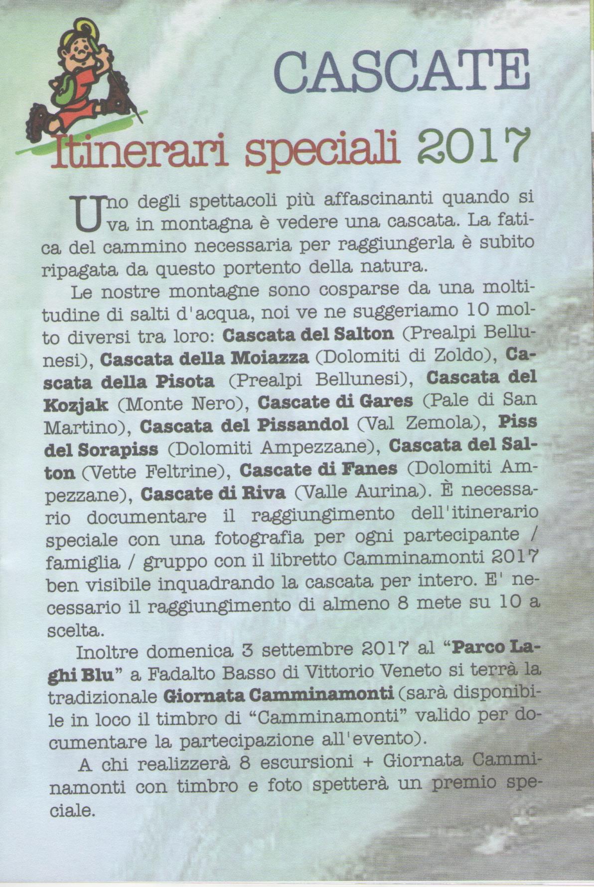 Camminamonti 2017 ITINERARI 001
